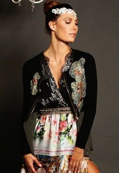 Women's Grace of Monaco Jacket Now In Stock (Women's Boutique Coats). Women's Grace of Monaco Jacket Ryu Clothing, Boutique Clothing, Cute Wedding Guest Dresses, Pink Trousers, Mommy And Me Outfits, Ladies Boutique, Long Sweaters, Blue Lace, Playing Dress Up