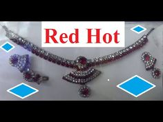 Red hot Jewellery set