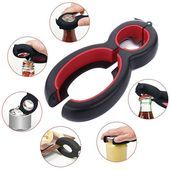 Multi Function Twist All Bottle Opener (6 in 1)  - Can Opener - Ideas of Can Opener #CanOpener