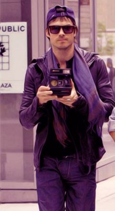 Oh Ian, the things I'd like to do with YOU and a Polaroid! haha