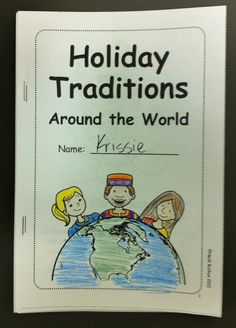 Children's Printable Book for Holidays Around the World