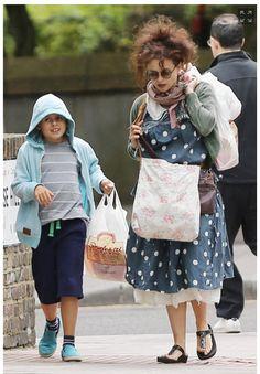 Helena Bonham Carter - Love her style  #WWHBCW