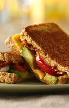 """Avocado and bacon add tons of flavor to grilled cheese—and make it even heartier! Switch up grilled cheese night with this easy recipe that would be wonderful paired with a cup of tomato soup or a quick side salad. Betty member Candyland41 says, """"Best sandwich I have ever eaten. Awesome flavor combination—melts in your mouth."""""""