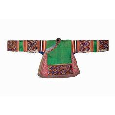 Non-Western Historical Fashion - Festival Jacket 20th century Culture: Miao Made...