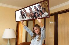 Fun with mirrors. | 42 Impossibly Fun Wedding Photo Ideas You'll Want To Steal