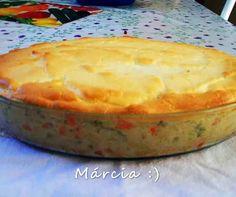 Culinária-Receitas - Mauro Rebelo: Maionese de forno com frango