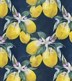 Lemons pattern Art Print by CatyArte. Worldwide shipping available at Society6.com. Just one of millions of high quality products available.