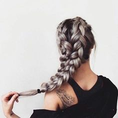 Neat This schoolgirl favorite is all grown up. See the 12 new braided hairstyles we can't get enough of and learn exactly how to do them The post This schoolgirl favorite is all grown up. New Braided Hairstyles, Pretty Hairstyles, Holiday Hairstyles, Hairstyle Ideas, Hairstyle Braid, Bun Updo, Hairstyles Pictures, Braided Hairstyles Tutorials, Hair Buns