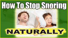 BE HEALTHY STOP SNORING! – Easiest Anti-Snoring Remedies And Tips