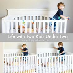 What is life really like with two kids under two? Let me tell you! - Plain Vanilla Mom