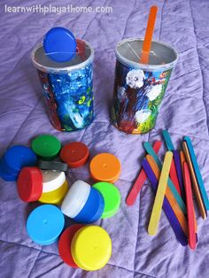 Learn with Play at home: DIY Fine Motor Activity for Toddlers Plus New Toddler Snack Review and Giveaway