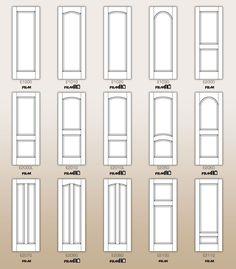 standard interior door designs part 1