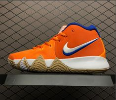 496cbe17a71f The Nike Kyrie 4 Wheaties sneakers take their colors from the cereal box  with a bright
