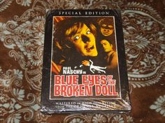 Blue Eyes of the Broken Doll (DVD, 2008) Rare OOP BCI! Naschy Horror in Shrink!