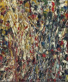 Jean-Paul Riopelle (Canadian, Sans titre, Oil on canvas, 33 x cm. Action Painting, Deep Purple, Abstract Expressionism, Abstract Art, Catalogue Raisonne, Jean Paul, Canadian Art, Global Art, Art Market