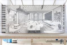 Robbie Cornelissen Louvre, Graphic Design, Drawings, Building, Travel, Art, Art Background, Viajes, Buildings