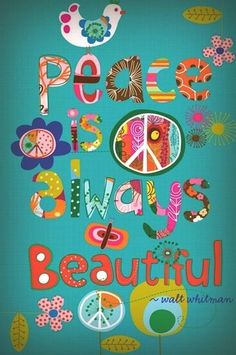 ♔ Peace is always beautiful