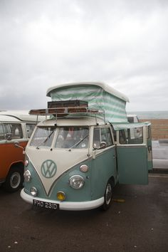Brighton Breeze 2014. A variety of all the different styles of VW Campervans. Photographed by: http://uk.pinterest.com/chrisdennis1996/