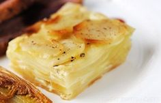 Josh Eggleton presents the ultimate potato dauphinoise recipe. This dauphinoise recipe is as richly decadent as ever Oven Dishes, Potato Dishes, Potato Recipes, Food Dishes, Vegetable Side Dishes, Vegetable Recipes, Chocolate Flapjacks, Great British Chefs, Gratin