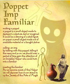 Poppet, Imp, Familiar
