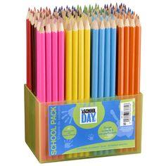 Crayons de couleur assortis Pack de 144 pièces