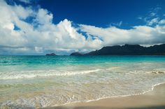 This is my favorite place on earth - Bellows Beach on Oahu, Hawaii. (Beach at Bellows Air Force Station by Nick Holmes on 500px)