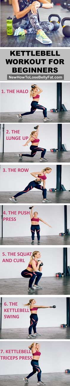 Are you new to Kettlebells? This workout is the perfect way to get you started! | NewHowToLoseBellyFat.com