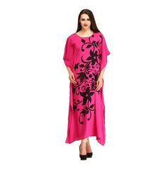 Cottinfab Women's Maxi Night Dress @ Rs 699
