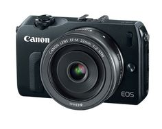 Canon's new EOS-M: a Mirrorless APS-C compact that happily taks 35mm lenses. First Canon I've wanted in a while.