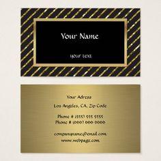 Elegant Sparkles & Glitter Business Card - glitter glamour brilliance sparkle design idea diy elegant