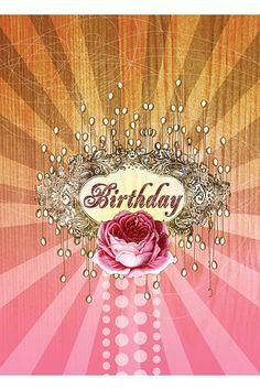 PAPAYA! Art Birthday Emblem 5x7 Card - Birthday - Occasions - SHOP