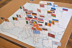 Montessori Europe activities from Sorting Sprinkles