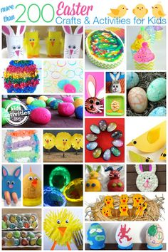 Over 200 Easter Crafts and Activities for Kids