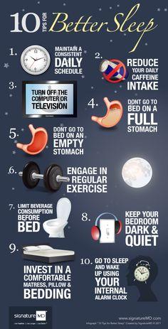 A good night's sleep is critical to anyone's health. -