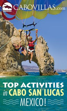 Cabo San Lucas #Mexico is full of fun activities & tours for all ages, including whale watching, scuba diving, parasailing, snorkeling, kayaking, zip-lining, off-road ATV tours and so much more! Here are our top picks: http://www.cabovillas.com/tours.asp  #travel #Mexico #LosCabos #familytravel #luxurytravel #ecotravel #ecotourism #adventuretravel #Cabo #CaboSanLucas #tourism #activities #tours #excursions #whalewatching #parasailing #snorkeling #diving #scuba #vacation