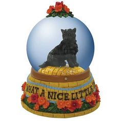 Wizard of the Oz Toto Nice Little Dog Water Globe - Westland Giftware - Wizard of Oz - Snow Globes at Entertainment Earth