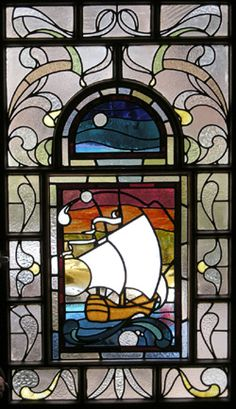 stained glass galleon glasgow scotland rdw glass by RDW Glass, via Flickr