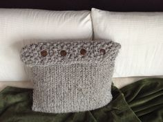 "Grey Marbled Hand Knit 18""x18"" Pillow Cover by bricoknits on Etsy https://www.etsy.com/listing/216759296/grey-marbled-hand-knit-18x18-pillow"