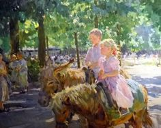 Yuri Krotov, 1964 ~ Impressionist Figurative painter | Tutt'Art@ | Pittura * Scultura * Poesia * Musica |