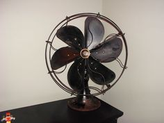 Antique desk fan