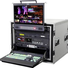 MS-2800 HD/SD 8/12 Channel Mobile Video Studio - The MS-2800 is a modular mobile video studio that enables live production and event recording.