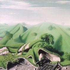 Kuti Dénes: Eldobott mező, 1980., Danubius Fürdővállalat, Szováta Organic Art, Around The Worlds, Mountains, Nature, Pictures, Travel, Photos, Naturaleza, Viajes