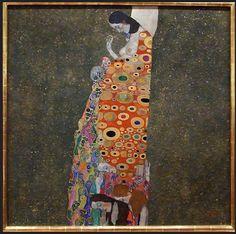 Gustav Klimt. Hope II. 1907-1908