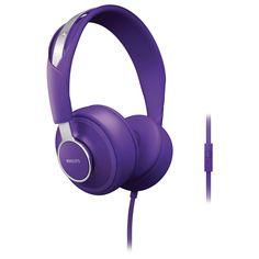 Philips SHL5605 CitiScape Downtown Violet – Headphones