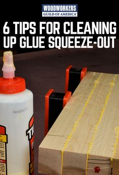 Squeeze-out is actually a good thing. It answers the question: Have you used the right amount of glue? You want a thin bead to come out of the joint—not more, not less. But squeeze-out is a pain, too. It's got to come off. Done the hard way, removing squeeze-out can take longer than applying the glue and clamping the wood together. Here are six tips to make the job easier.