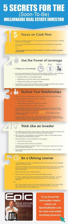 5 secrets to help you become a great investor