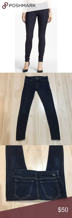 """Mother Jeans The Looker in Forever and a Day 27x31 Jeans are in excellent gently preowned condition.  No flaws.  They have been washed and worn a few times.  Size 27.  Inseam measures approx 31"""".  Rise is approx 8"""".  Waist measures approx 15"""" across laying flat with no dip in the waist.  98% Cotton and 2% Elastane MOTHER Jeans Skinny"""