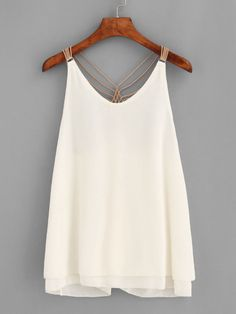 Cami Designed with Scoop Neck, Straps. Regular fit. Plain design. Trend of Summer-2018. Designed in Apricot. Fabric has no stretch.