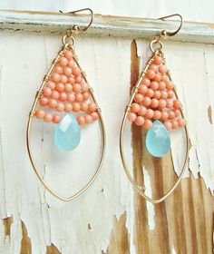 I like these:)  Pretty for the summer!
