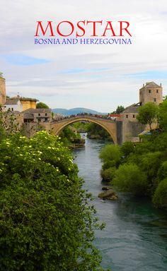 Stari Most, Mostar's famous bridge: http://bbqboy.net/pretty-side-mostar-bosnia-herzegovina/   #mostar #bosniaandherzegovina